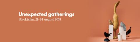 UNEXPECTED GATHERINGS – temat för höstens Formex