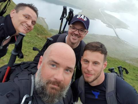 Southern enforcement team to take on tall challenge for Samaritans