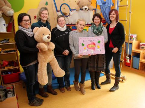 Döhlener Kindergarten, Rochlitzer Grundschule und Hort sammeln für Bärenherz
