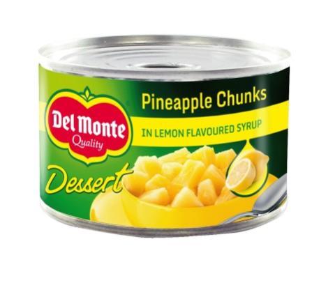 Del Monte Dessert Range