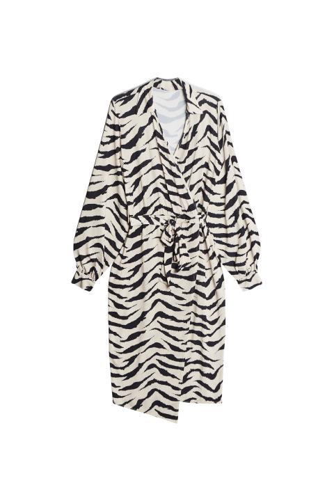 Gina Tricot 499 SEK 49.95 EUR 399 DKK Tea wrap dress v.17
