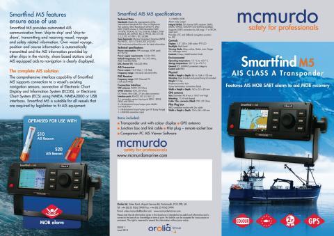 Broschyr Smartfind M5 AIS Klass A