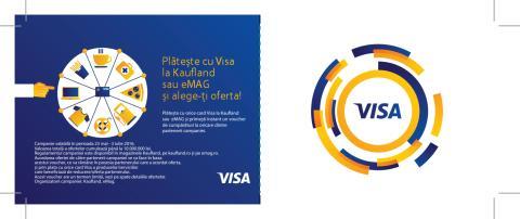 """Voucher campanie """"Plateste cu Visa si alege-ti oferta"""""""
