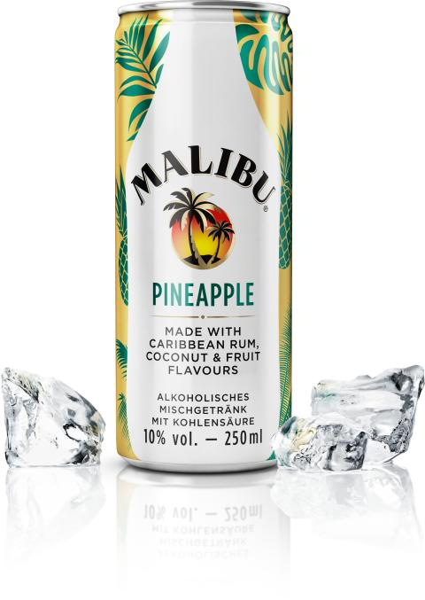 Urbanes Sommer-Feeling mit Malibu Pineapple