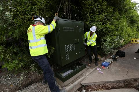 Faster broadband for Gatehead