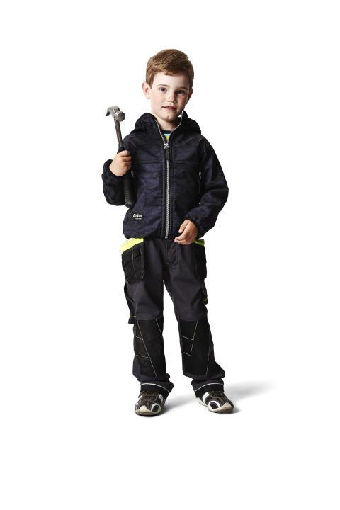 Snickers Workwear arbeidstøy for barn