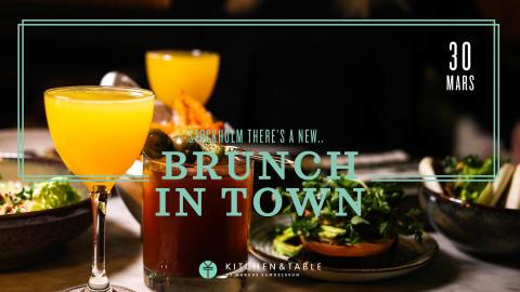 It's brunch time x Kitchen & Table