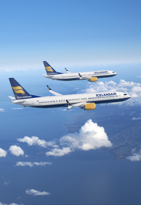 Icelandair: Trådløst Internett på fly til Storbritannia, USA og Europa