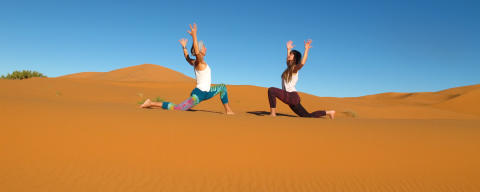 Sahara desert yoga retreat