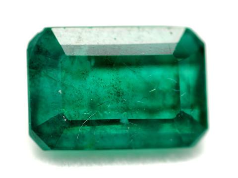 Klassiska auktionen 26/2, nr 158, smaragd, 3,20 ct, värderingsintyg R. Krieger.