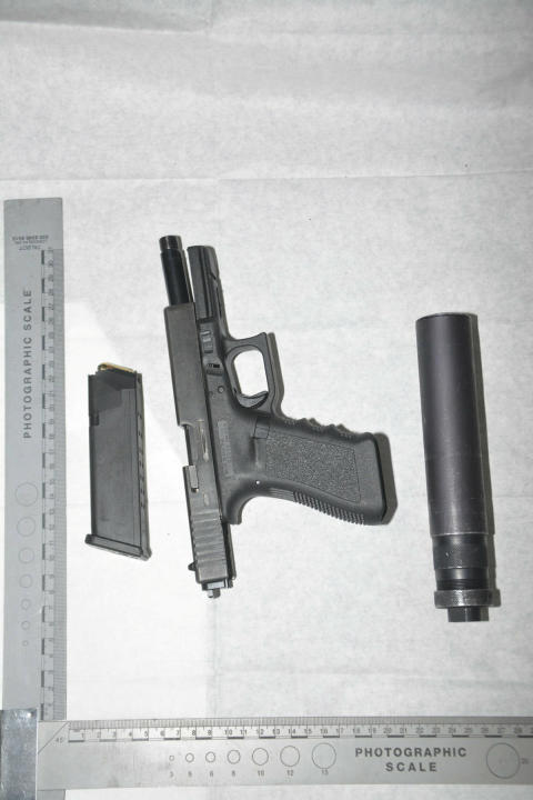 Man arrested and two loaded firearms seized following incident in Bootle