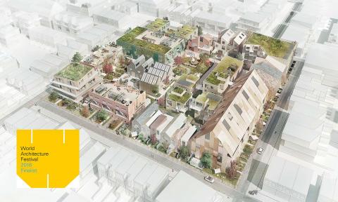 Masterplan for NærHeden vinder prestigefyldt international arkitekturpris