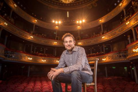 David Greig, Artistic Director of The Lyceum. Photo credit - Aly Wight