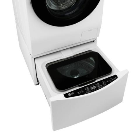 Uusi kaksiosainen LG TWINWash™ tekee pyykinpesusta helppoa ja tehokasta