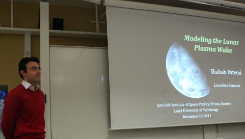 Det blåser på månen - nya rön
