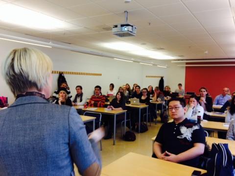 Better Business föreläser på Lunds universitet