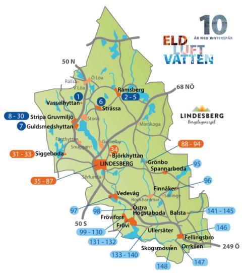 Vinterspår: Detta händer i södra Lindesbergs kommun