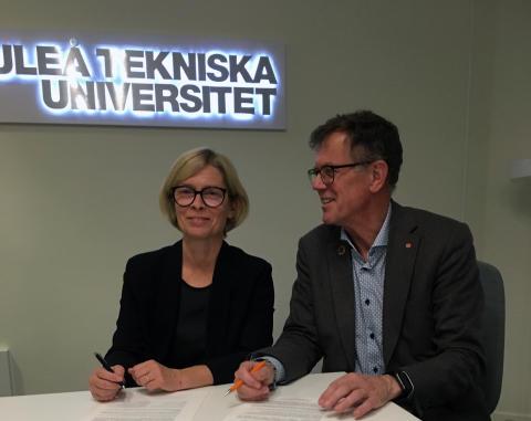 Luleå tekniska universitet och Piteå ökar samverkan
