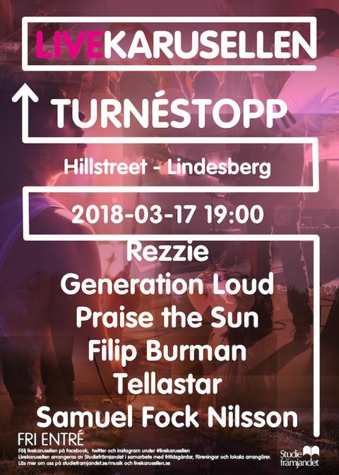 Livekarusellen gör turnéstopp 17 mars i Lindesberg