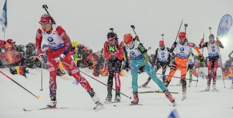 Synnøve Solemdal, fellesstart Ruhpolding, sesongen 2015-2016