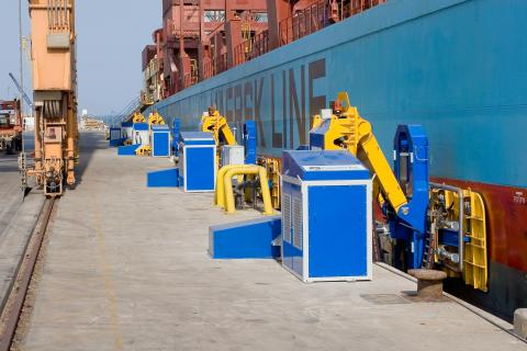 Electrification, automation drive port and ship projects