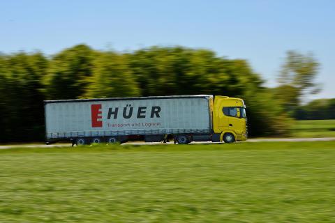Scania Kunde Huer nutzt Scania Ecolution