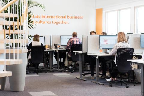 Semantix Finland toimistokuva