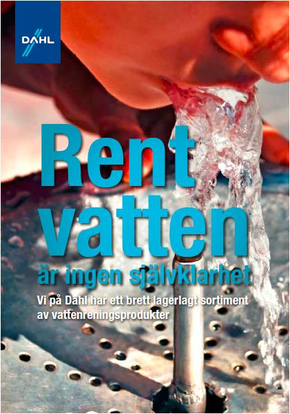 Insats mot otjänligt vatten: Dahl erbjuder förmånlig provtagning via VVS-installatör