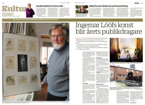 Artikel i NWT 2018-01-13 om Ingemar Lööf