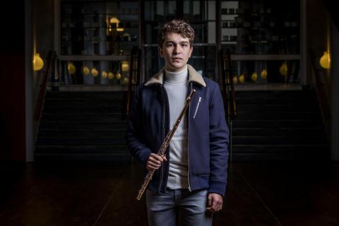 Rødovre Musikpris og 50.000 kr. til ung fløjtenist
