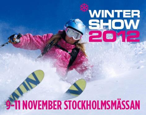 Pressinbjudan Winter Show 9-11 november 2012, Stockholmsmässan