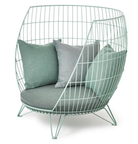 Big Basket armchair, design Ola Gillgren