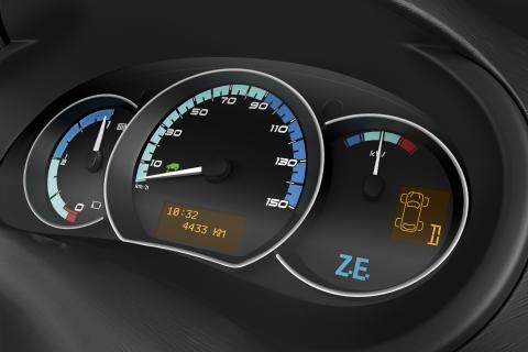 Renault Kangoo ZE instrumentering