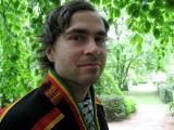 Den samiske forfatteren Sigbjørn Skåden, forfatter av den nye boken Samer