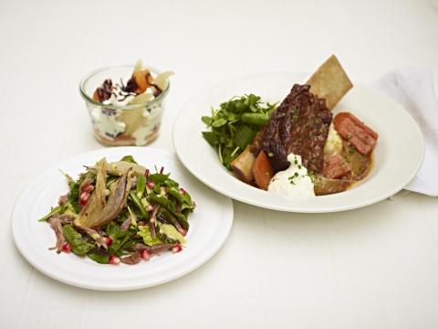 Autumn menu by Jamie Oliver