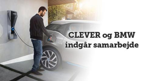 BMW og CLEVER indgår samarbejde