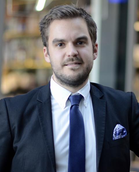 Scandics Andreas Markne kan bli Årets Unga Branschstjärna