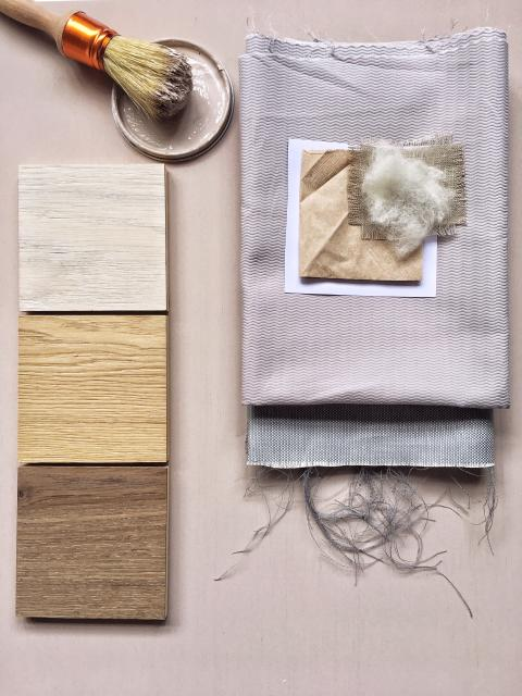 Making of moodboard - trend TIME-OUT