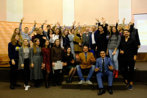 UK entrepreneurial expertise to benefit enterprising Ukrainian students