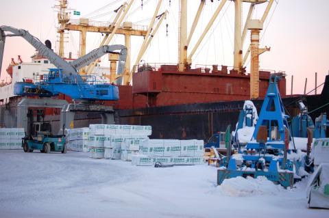 Hamnprojekt främjar hållbara internationella affärer
