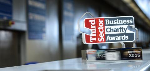 London Luton Airport wins Business Charity Award