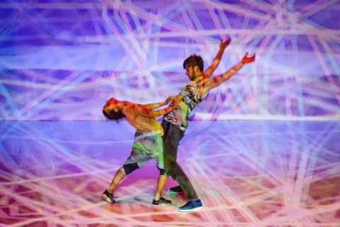 STEREO - performance af recoil performance group og Kulturværftet fra dette års performance-program på CLICK Festival.