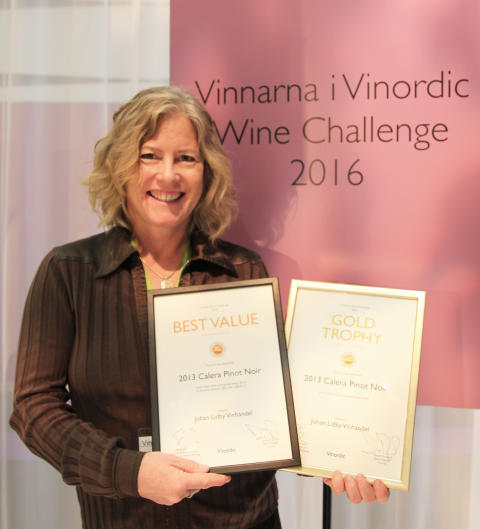Calera tar guld i Vinordic Wine Challenge 2016