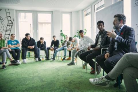 Jugend trifft auf CEO`s
