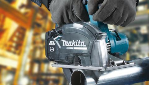 Makita lanserar batteridriven metallcirkelsåg på 18V