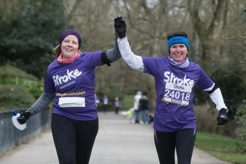 ​Blackpool runners raise over £8,000 for the Stroke Association