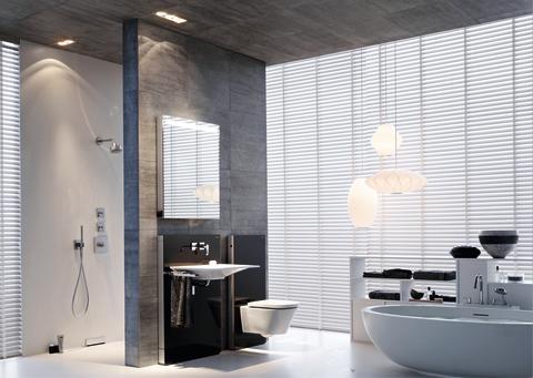 Geberit lanserar badrumsmoduler med fokus på elegant design och praktisk förvaring
