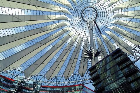 Berlin Potsdamer Platz Sony Center