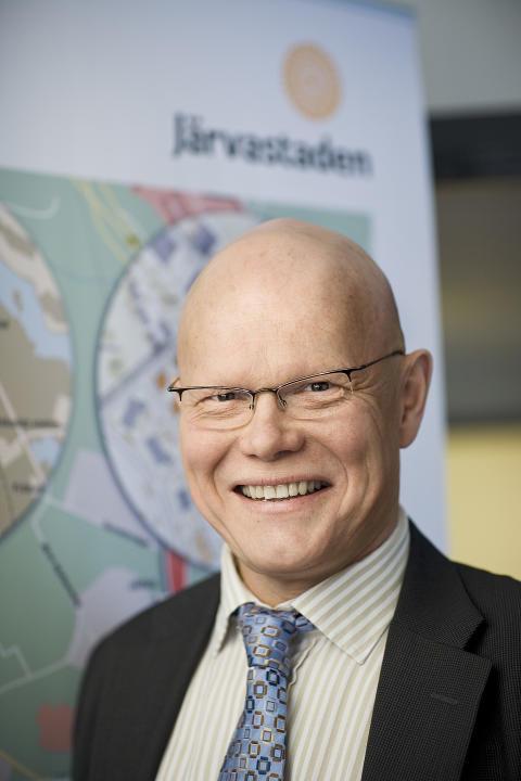 Alf Carlsson vd för Järvastaden AB