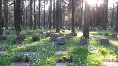 Världsarvet Skogskyrkogården, gravar